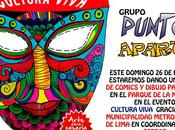 febrero Taller comic parque Muralla cargo grupo Punto aparte