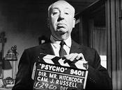 Alfred Hitchcock making Psycho