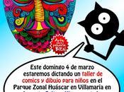Taller comics cargo grupo Punto aparte parque Huáscar (villa salvador) este domingo marzo