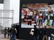valla interactiva McDonald's permite poner cara anuncio