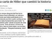 1919, Hitler pensaba Solución Final