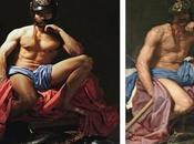 Actores cine español retratados como obras arte