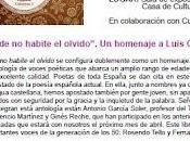 Presentación Donde habite olvido, Almansa