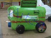 Camión reciclado
