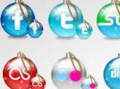 Iconos sociales navideños