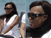 Naomi Campbell está quedando calva